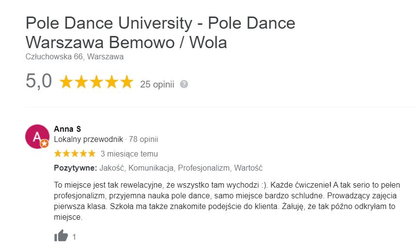 pole dance bemowo wlochy